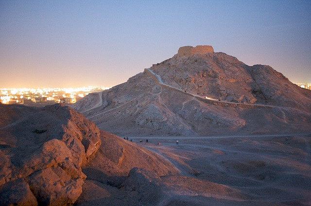 Zoroastrian Towers of Silence, Yazd